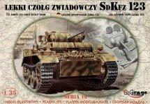Mirage Hobby 35108 SdKfz.123 Lekki Czołg Zwiadowczy 1/35