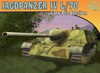Dragon 7293 Jagdpanzer IV L/70 Late (1:72)