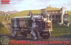 Roden 736 FWD Model B 3-ton US Army Ammunition Truck