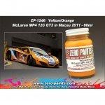 Zero Paints ZP-1246 Yellow/Orange Paint McLaren MP4-12C GT 60ml
