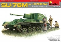 MiniArt 35262 SU-76M w/Crew SPECIAL EDITION (1:35)