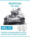 Friulmodel 1:35 ATL-71 MATILDA flat type