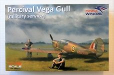 Dora Wings 72004 Percival Vega Gull (military service) 1/72