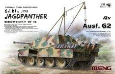 Meng Model TS-047 German Tank Destroyer Sd.Kfz. 173 Jagdpanther Ausf. G2 1/35