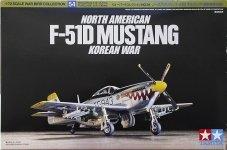 Tamiya 60754 North American F-51D Mustang 1/72