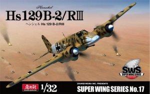 Zoukei-Mura SWS3217 Henschel Hs 129 B-2/RⅢ 1/32
