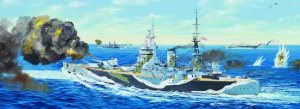 Trumpeter 03709 HMS Rodney (1:200)