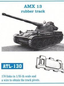 Friulmodel 1:35 ATL-130 AMX 13 rubber track