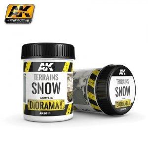 AK Interactive AK 8011 Terrains Snow 250ML