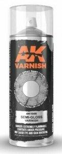 AK Interactive AK 1046 High Quality Semi Gloss Varnish Lacquer Spray 400 ml.