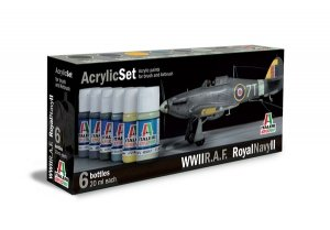 Italeri 444AP British RAF/Royal Navy (Set II, World War II) 6x20ml