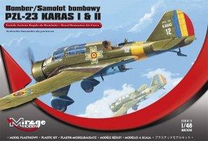 Mirage Hobby 481304 PZL-23 KARAS I & II 'Królewskie Rumuńskie siły powietrzne' (1:48)