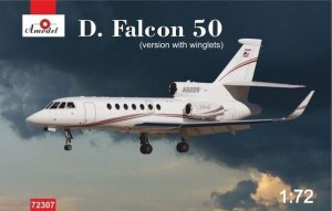 A-Model 72307 Dassault Falcon 50 (with winglets) 1:72