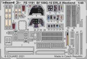 Eduard FE1191 Bf 109G-10 ERLA Weekend EDUARD 1/48