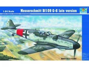 Trumpeter 02408 Messerschmitt Bf109 G-6 late version 1/24