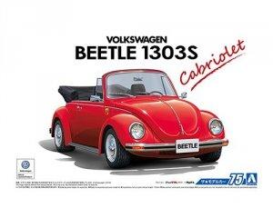 Aoshima 05572 VOLKSWAGEN 15ADK Beetle 1303S Cabriolet '75 1/24