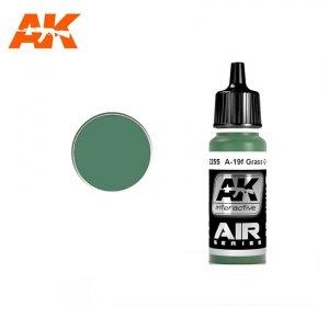 AK Interactive AK 2255 A-19F GRASS GREEN 17ml