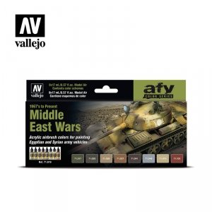Vallejo 71619 Middle East Wars (1967 to present) 8x17ml