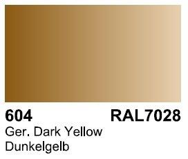 Vallejo 70604 Surface German Dark Yellow RAL 7028 17ml.