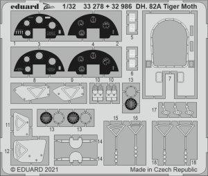 Eduard 32986 DH. 82A Tiger Moth ICM 1/32