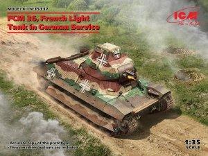 ICM 35337 FCM 36 French Light Tank in German Service 1/35