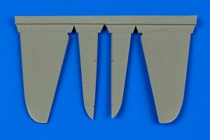 Aires 4656 A6M Zero control surfaces 1/48 Hasegawa