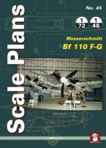 Stratus 81937 Scale Plans No. 45 Messerschmitt Bf 110 F-G