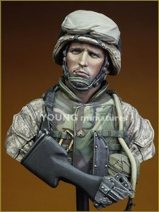 Young Miniatures YM1816 USMC Fallujah Iraq 2004 1/10