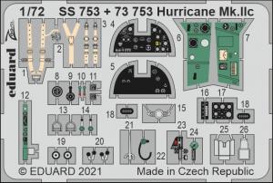 Eduard 73753 Hurricane Mk.IIc ZVEZDA 1/72