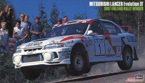 Hasegawa 20480 Mitsubishi Lancer Evolution IV 1997 Finland Rally Winner 1/24
