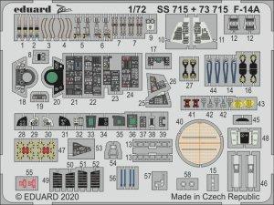 Eduard 73715 F-14A 1/72 GREAT WALL HOBBY