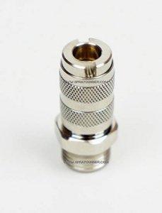 Harder & Steenbeck 104403 Szybkozłącze 2.7mm z gwintem 1/8'