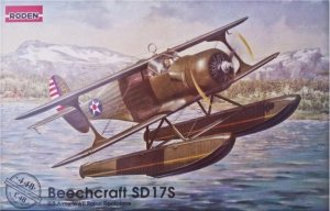 Roden 448 U.S. Army Beechcraft SD 17S WWII patrol floatplane