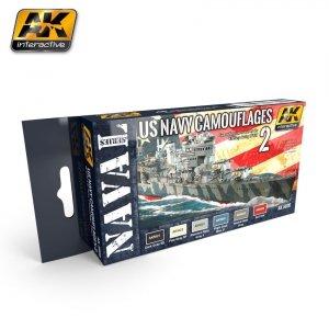 AK Interactive AK 5020 US NAVY CAMOUFLAGE VOL. 2