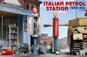 MiniArt 35620 ITALIAN PETROL STATION 1930-40s 1/35