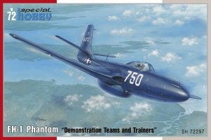 Special Hobby 72297 FH-1 Phantom Demonstration Teams and Trainers 1/72