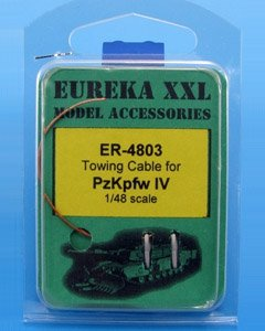 Eureka XXL ER-4803 Towing cable for Pz.Kpfw.IV Tank 1/48