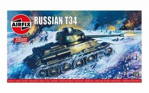 Airfix A01316V Vintage Classics - Russian T34 Medium Tank 1:76