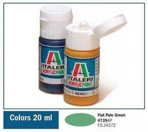 Italeri 4739 FLAT PALE GREEN 20ml