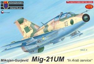 Kovozavody Prostejov KPM0202 MiG-21UM In Arab service 1/72