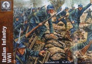 Waterloo 1815 AP019 Italian Infantry WWI (1:72)