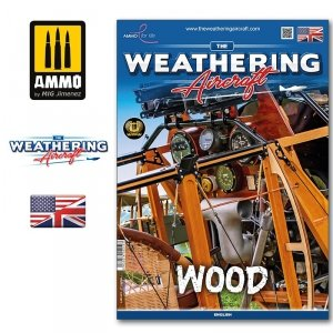 Ammo of Mig 5219 The Weathering Aircraft Issue 19. WOOD (English)