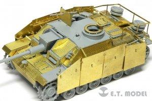 E.T. Model E72-016 WWII German StuG.III Ausf.G Fenders For DRAGON Kit 1/72