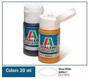 Italeri 4696 GLOSS WHITE 20ml