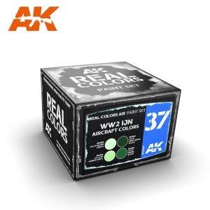 AK Interactive RCS037 WW2 IJN AIRCRAFT COLORS 4x10ml