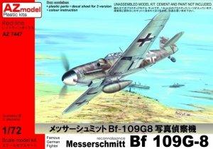 AZ Model AZ7447 Messerschmitt Bf-109G-8 Recon (1:72)