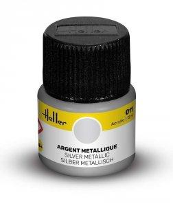 Heller 9011 011 Silver - Metallic 12ml