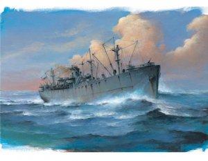 Trumpeter 05756 SS John W. Brown Liberty Ship 1/700