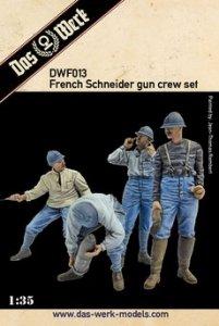 Das Werk DWF013 155mm French Schneider gun crew 1/35