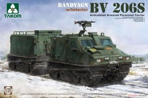 Takom 2083 Bandvagn BV 206S w/interior 1/35